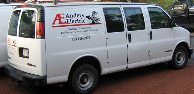 Anders Electric Service Van