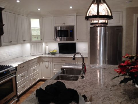 Lighting Kitchen Reno